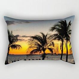 Miami Sunset Rectangular Pillow