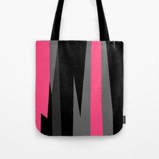 pink black and gray abstract Tote Bag