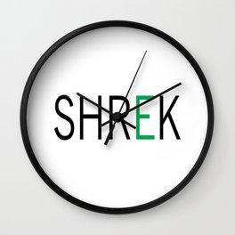 SHREK Wall Clock