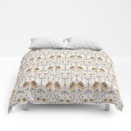 Goldfinch & Hummingbird Comforters