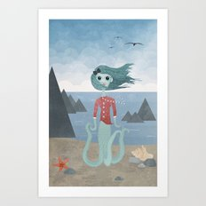 Sea Maiden Art Print