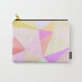 Scribble Stained Glass Pink Carry-All Pouch