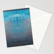 Sunset Mountains 3 Stationery Cards