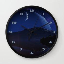 The New Earth Wall Clock