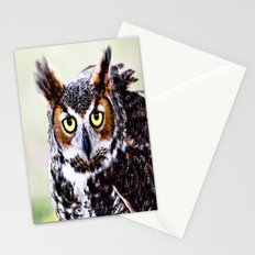 Great Horned Owl Stationery Cards