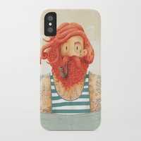 sailor iPhone & iPod Cases featuring Octopus by Seaside Spirit