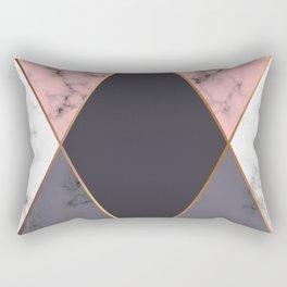 Marble Geometry 018 Rectangular Pillow