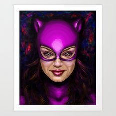 Cat of Kunis Art Print
