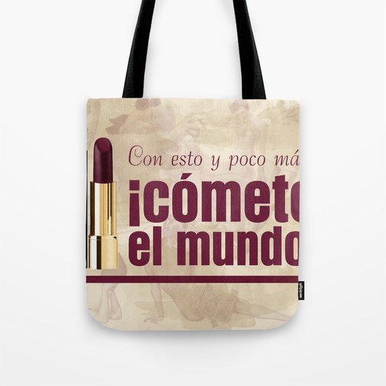 The World is yours! Tote Bag