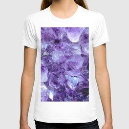Amethyst Crystals T-shirt