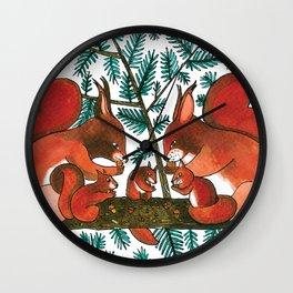 Noah's Ark - Squirrel Wall Clock