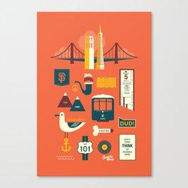 Sanfrancisco Canvas Print