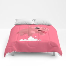 Rosa the Pig Jumps Comforters