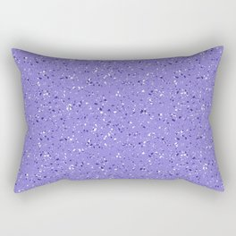 Lilac rubber flooring Rectangular Pillow