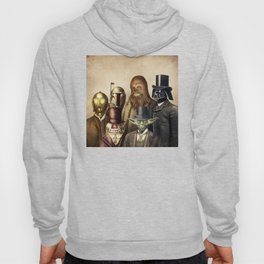 Victorian Wars (square format) Hoody