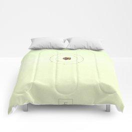 9 Fluorine - Atomic Poster Comforters