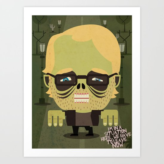 Philip Seymour Hoffman tribute Art Print