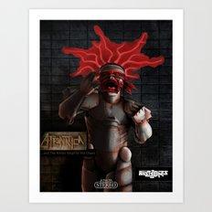 ATeNATiCa - Cover Art Art Print