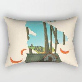 Salt Spring Island Canada Rectangular Pillow