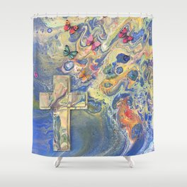 Heaven's Wings Shower Curtain