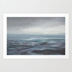 ciel gris Art Print