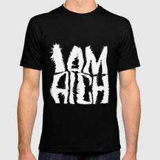 I am Rich Mens Fitted Tee Black MEDIUM