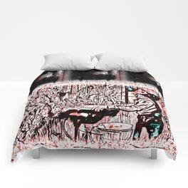 Eleven Stranger Upside Downs Comforters