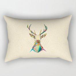 Illustrated Antelope Rectangular Pillow