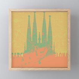 Holly Family Barcelona Framed Mini Art Print