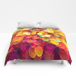 Light and Shimmer Comforters