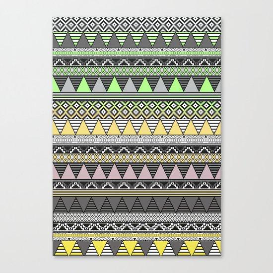 CELADON & HANSA YELLOW Canvas Print