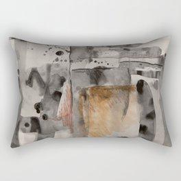 Composición de líneas Rectangular Pillow