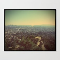 Laid out before me Canvas Print