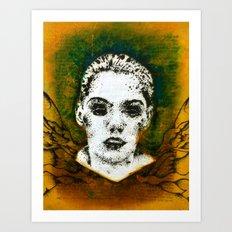 Wings Series One (Angel) Art Print