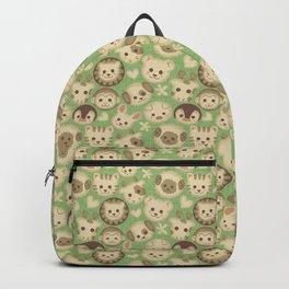 Animal Cookies Green Backpack
