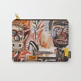 A vectorised Basquiat Carry-All Pouch