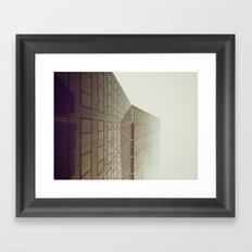 Sidescraper Framed Art Print