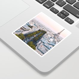 Paris City Sticker