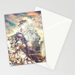 Snow, Sunshine and Sky Stationery Cards