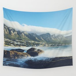Hello Cape Town Wall Tapestry