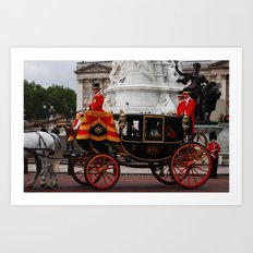 The Royal Carriage 6 Art Print