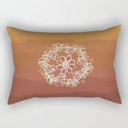 Hungarian floral wreath pattern: Spring Rectangular Pillow