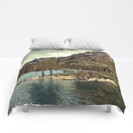 Emerald Bay Lake Tahoe Comforters