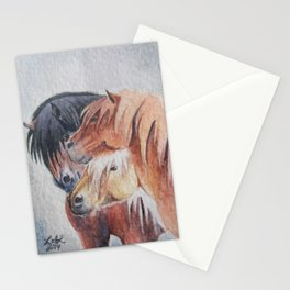 Three Musketeers Shetland Ponies Stationery Cards