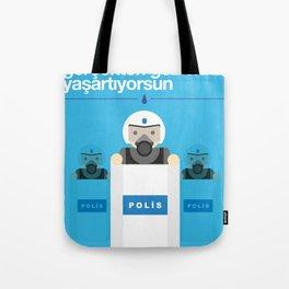Polis Tote Bag