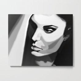 My Digital Painting series-Angelina Metal Print