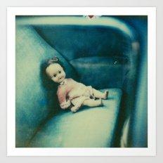 The Doll Art Print