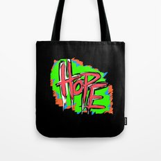 Hope (retro neon 80's style) Tote Bag