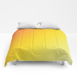 Blinding Sun - Gradients are the new colors Comforters