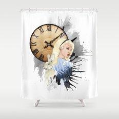 Tardy Shower Curtain